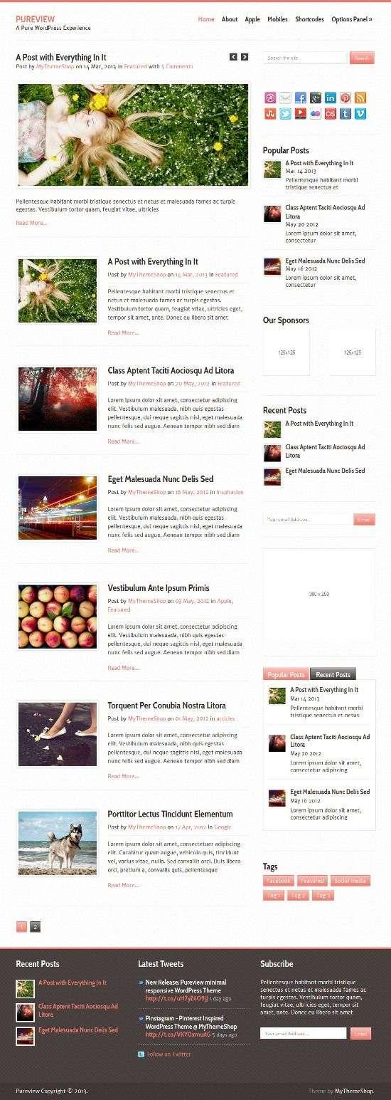 pureview mythemeshop avjthemescom 01 - Pureview WordPress Theme
