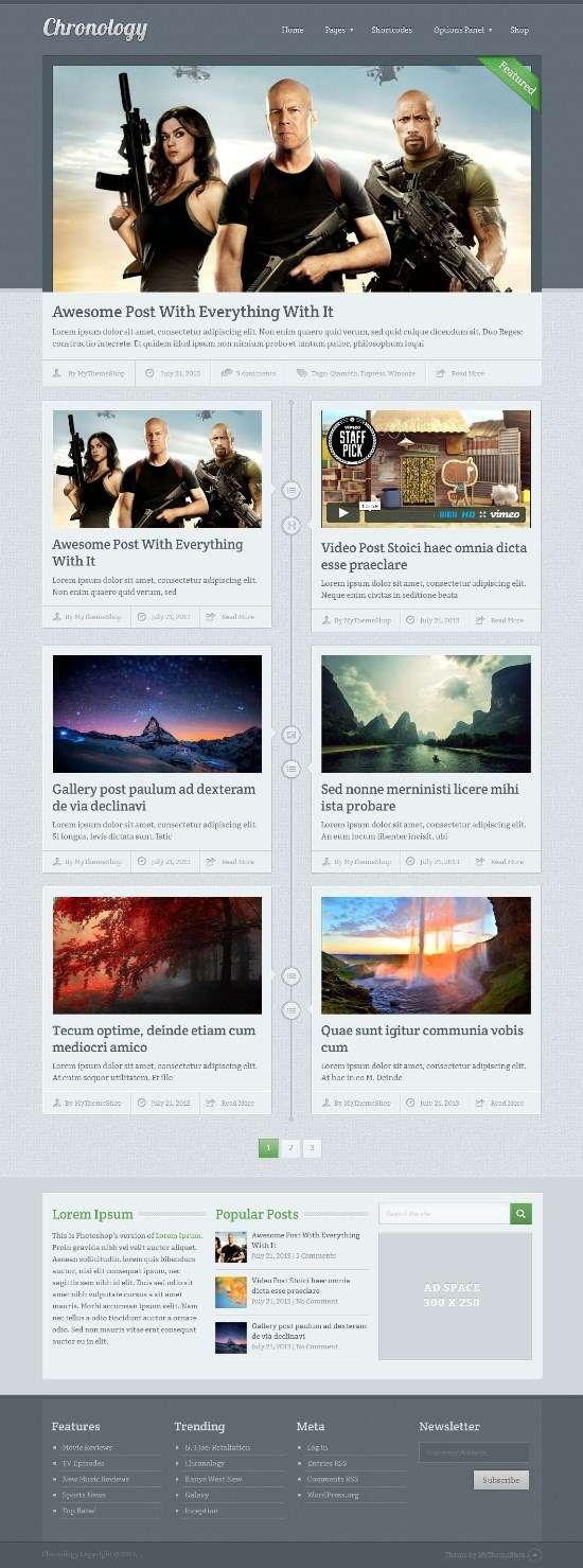 chronology mythemeshop avjthemescom 01 - Chronology WordPress Theme