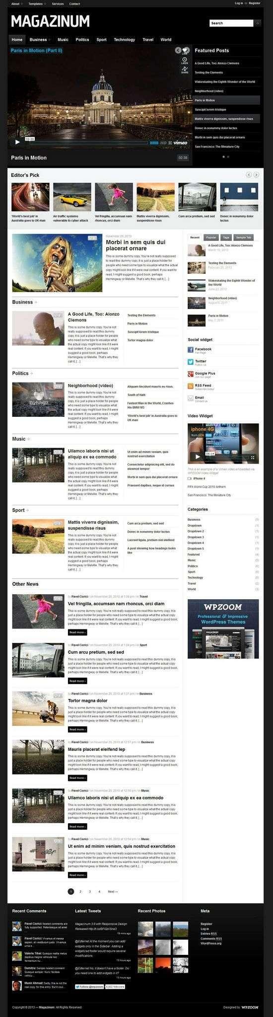 magazinum wpzoom avjthemescom 1 - Magazinum 3.0 WordPress Theme