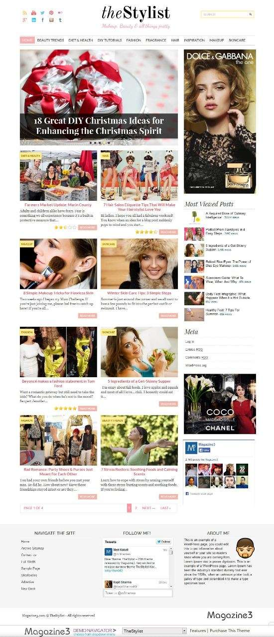 thestylist magazine3 avjthemescom 01 - The Stylist WordPress Theme