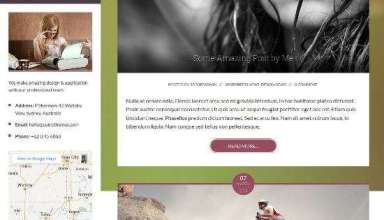 faceprint cubicthemes blog - FacePrint Premium WordPress Theme