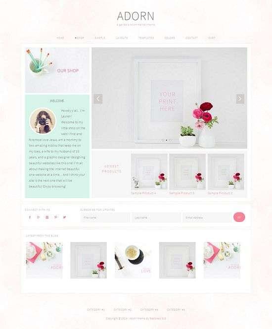 adorn restored316designs avjthemescom 01 - Adorn WordPress Theme