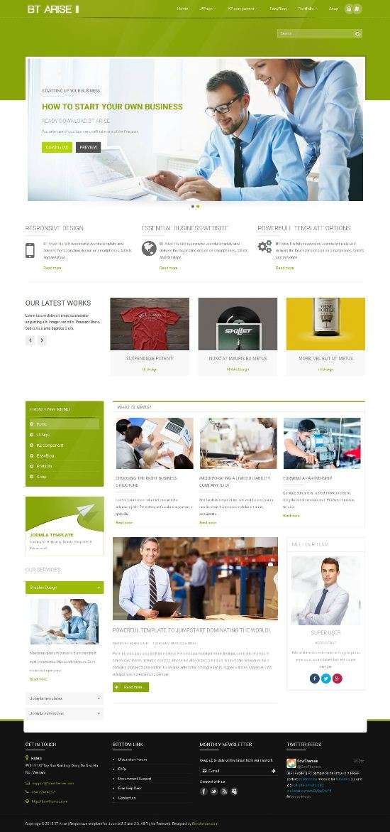 bt arise ii bowthemes joomla 1 - bt-arise-ii-bowthemes-joomla-1