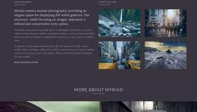 myriad rockettheme wordpress 01 - Myriad WordPress Theme