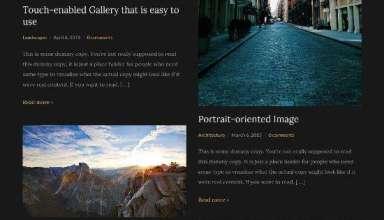 photonote 2 wpzoom photography theme 01 - Photonote 2.0 WordPress Theme