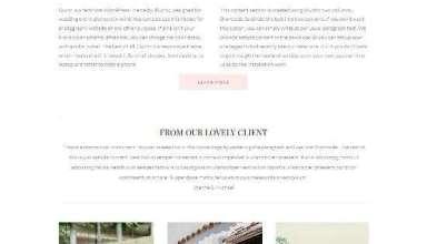 quinn theme for event planners - Quinn WordPress Theme