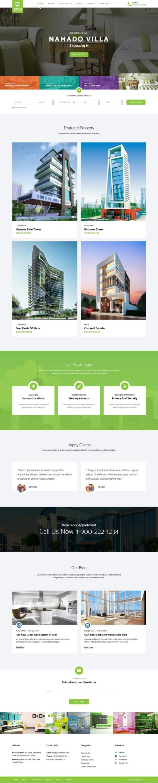 empire joomshaper joomla theme 550x2728 - Empire Joomla Template