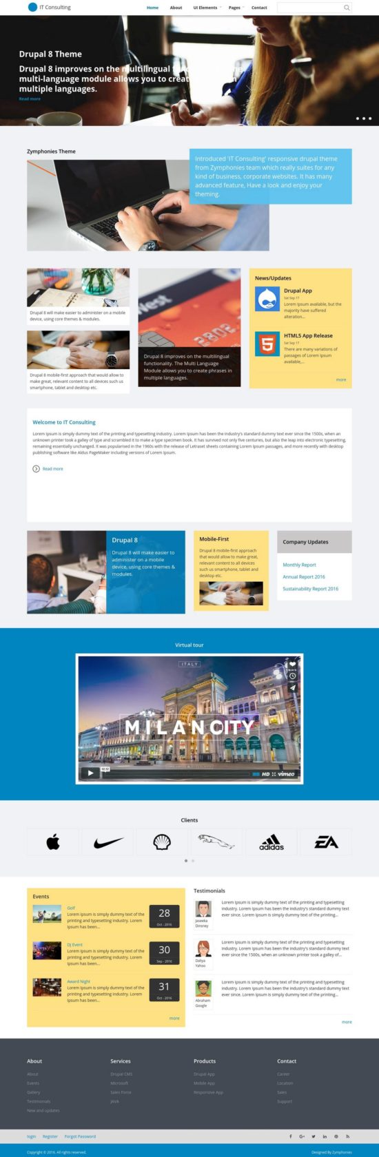 it consulting zymphonies drupal theme 01 550x1680 - IT Consulting Drupal Theme