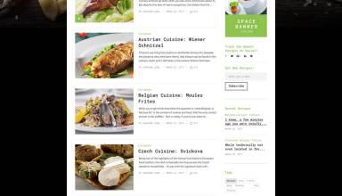 tastybites templatemonster wordpress themes 01 - TastyBites WordPress Theme