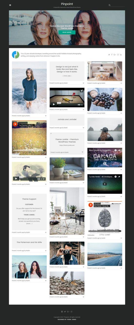 theme junkie pinpoint wordpress theme 01 - Pinpoint WordPress Theme