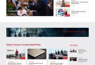 vivo video templatic themes wordpress themes 01 - Vivo WordPress Theme