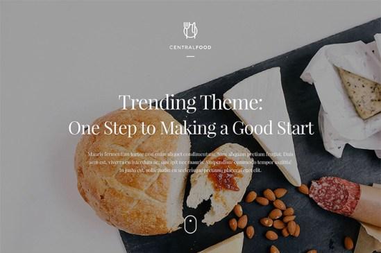 53445 big - Top 20 Food WordPress Themes with Flat Designs 2017