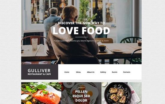 55438 big - Top 20 Food WordPress Themes with Flat Designs 2017