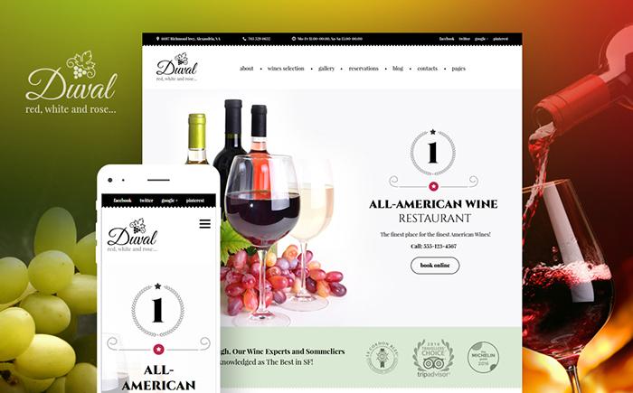 59007 big - Duval - Wine Restaurant WordPress Theme