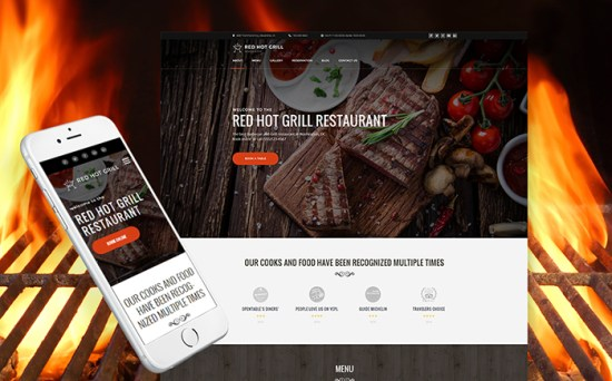 60112 big - Top 20 Food WordPress Themes with Flat Designs 2017