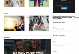 digezine wordpress theme 01 - Digezine WordPress Theme