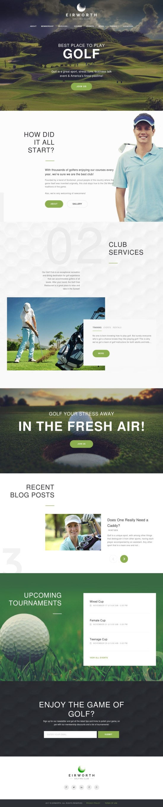 Eirworth WordPress Theme