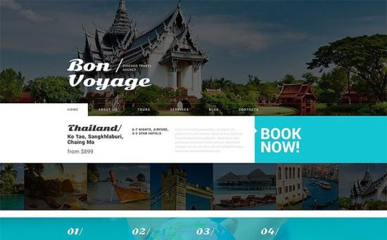 53879 big - Top 10 Best Travel Agency WordPress Themes 2017