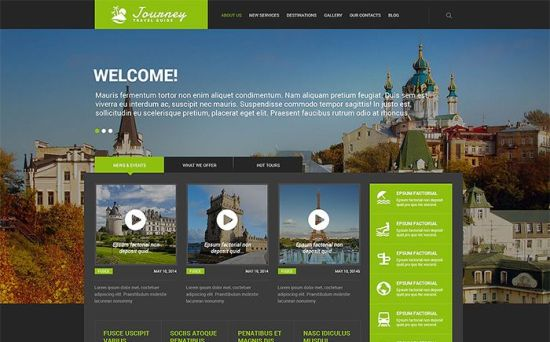 Journey : Stunning Travel Guide Responsive WordPress Theme
