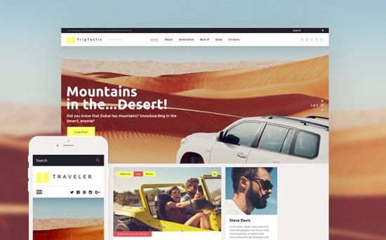 TripTastic – Elegant WordPress Theme for Your Travel Blog