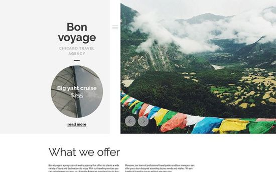 Bon Voyage – Creative WordPress Theme for Travel Agency