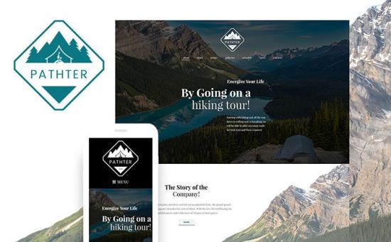 Pathter : Brilliant WordPress Theme for Hiking & Camping Tours