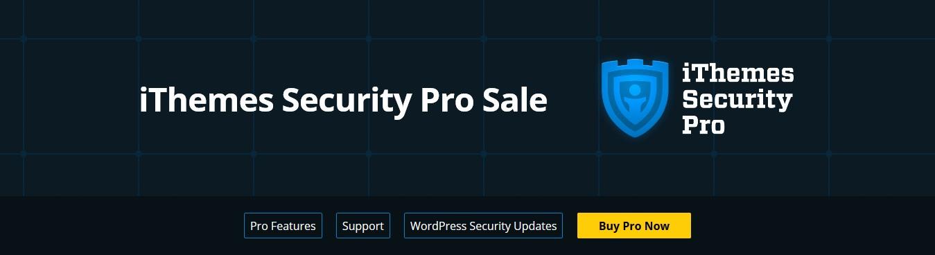 iThemes Security Pro Sale - iThemes Security Pro Sale - 35% Discount