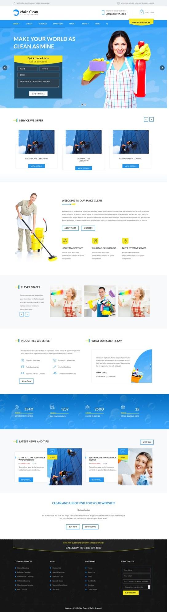 make clean wordpress theme 01 - Make Clean WordPress Theme