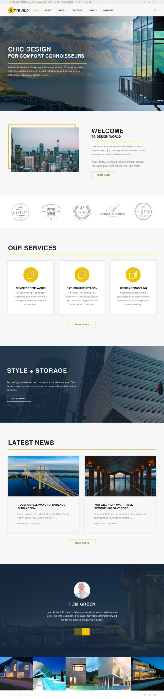 Citybuild WordPress Theme