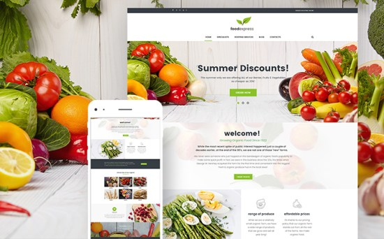 Food Express: Agriculture & Farm WordPress Theme