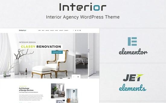 Interior Design Company WordPress Theme