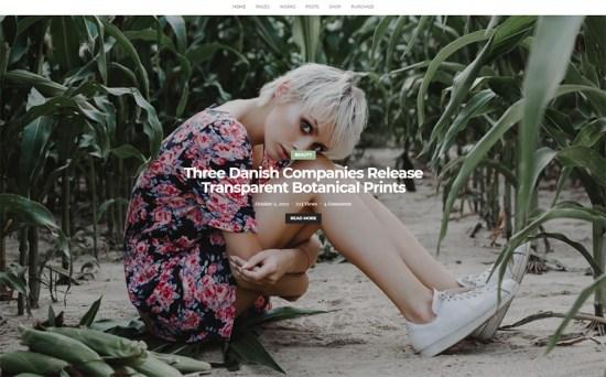 Ramsay - Multi-Conceptual Creative Blog & Portfolio WordPress Theme