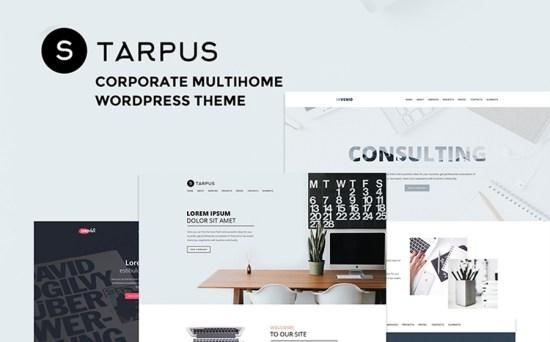 Tarpus Financial Multipurpose WordPress Theme