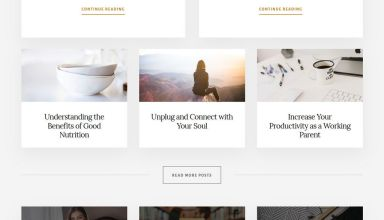 essence pro wordpress theme 01 - Essence Pro WordPress Theme