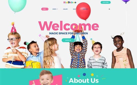 Kiddaboo - Wonderful Kids Center WordPress Theme