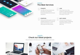 azzury wordpress theme 01 - Azzury WordPress Theme
