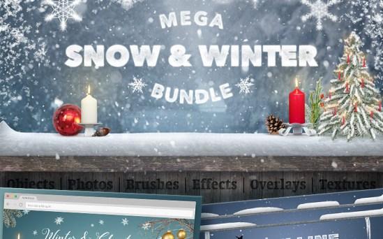 Mega Snow and Winter - Perfect Christmas Bundle