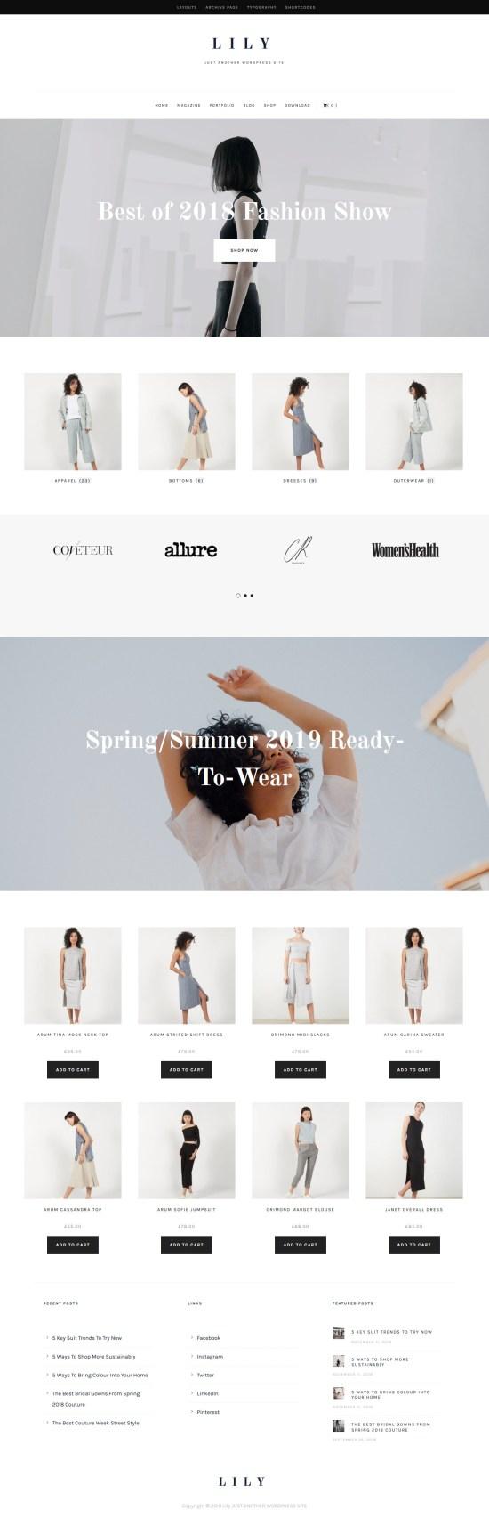 Lily WordPress Theme