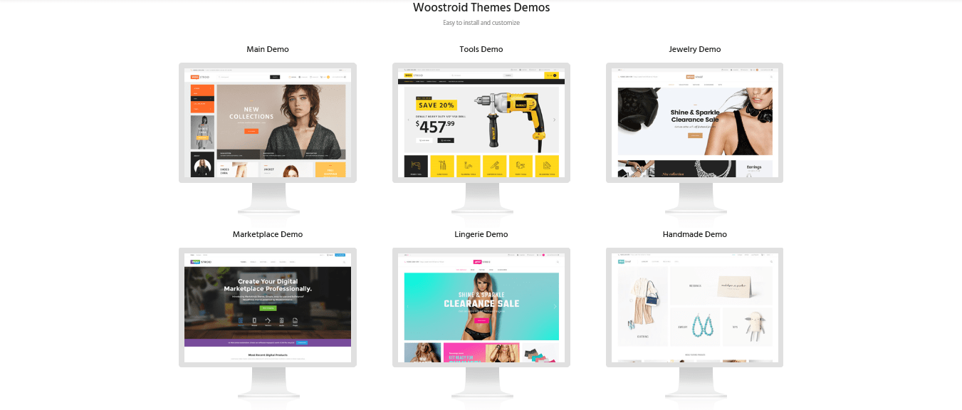 Woostroid Woocommerce WordPress Theme