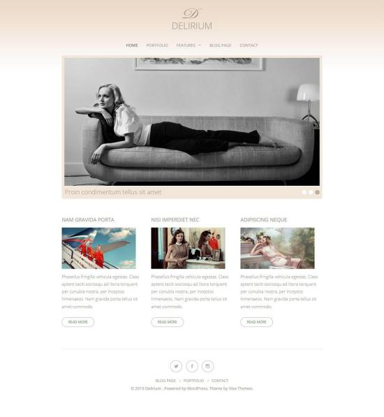 Delirium 4.0 WordPress Theme