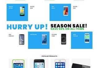 sellphone shopify theme 01 - Sellphone Shopify Theme