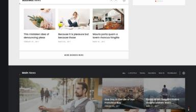 spectr wordpress theme 01 - Spectr WordPress Theme