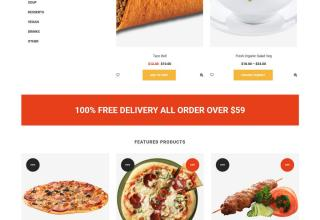 tasty shop shopify theme 01 - Tasty Shop Shopify Theme