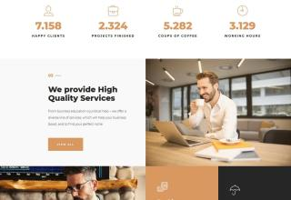 smixor wordpress theme 01 - Smixor WordPress Theme