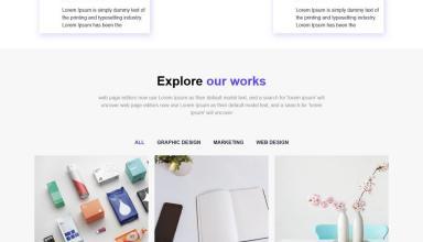 amrita wordpress theme 01 - Amrita WordPress Theme