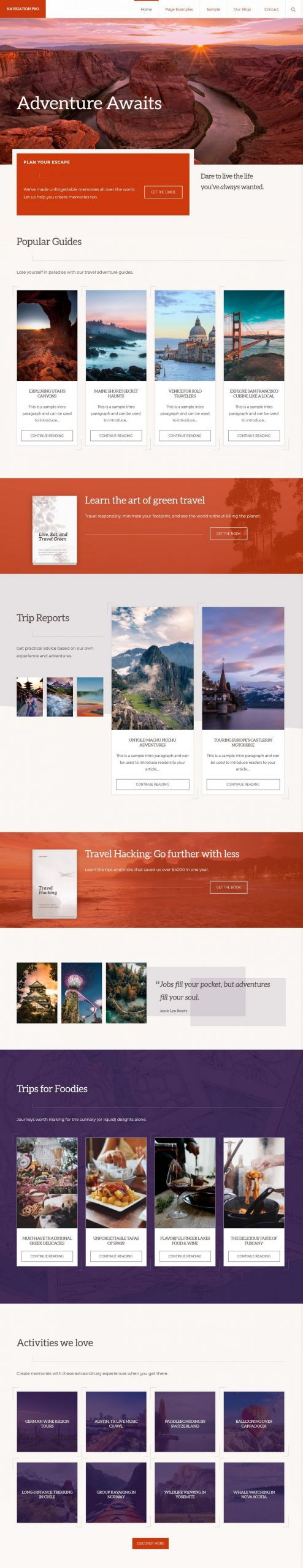 navigation pro studiopress wordpress theme 01 scaled - Navigation PRO WordPress Theme