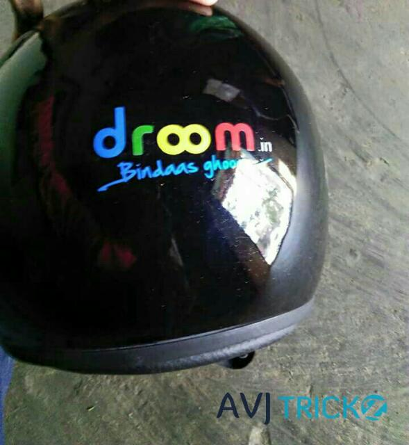 Droom helmet at Rs.79 - Flash SALE (*Register Now*) (*PROOF*)
