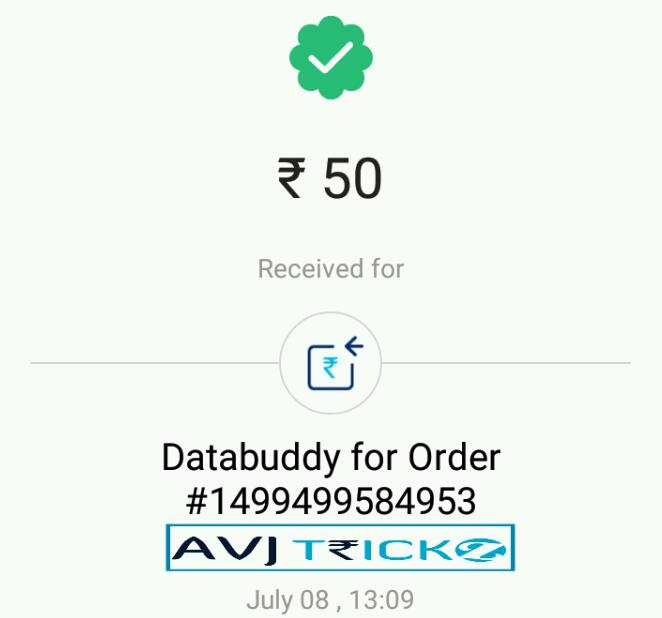 Databuddy App Download : Refer & Earn Unlimited paytm cash + Free Data (*VERIFIED*) (*PROOF*)