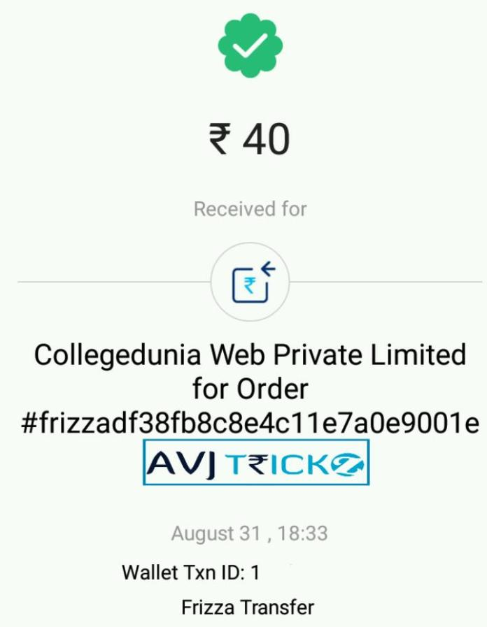 Frizza app refer & earn unlimited recharge, Paytm cash (*PROOF*)