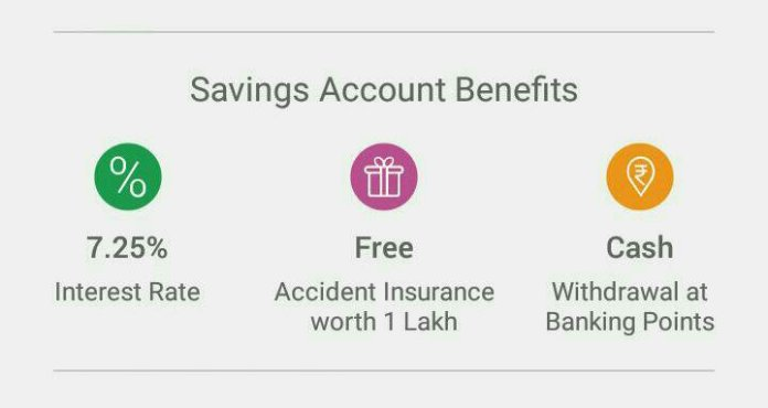 Airtel payments bank benefits